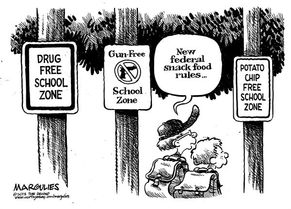 Jimmy Margulies - federal rules for school snacks 2/4/13