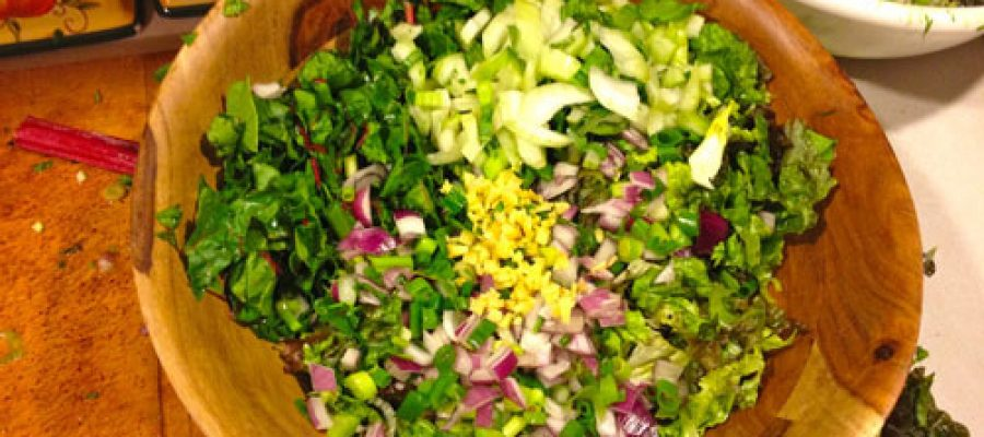 Video: See A Salad Sunday!